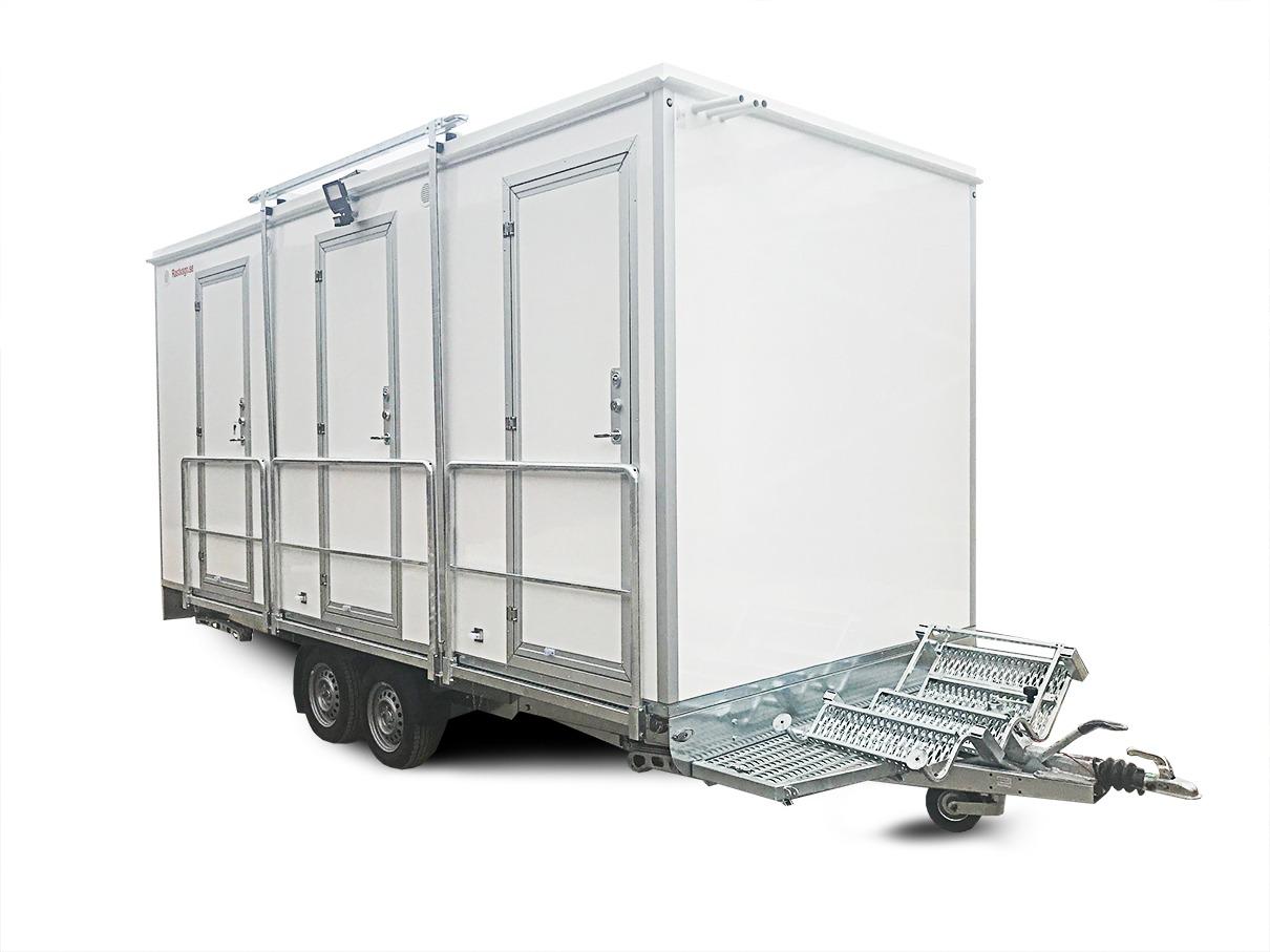 Туалет и душевая на колесах 3PSHWF-S