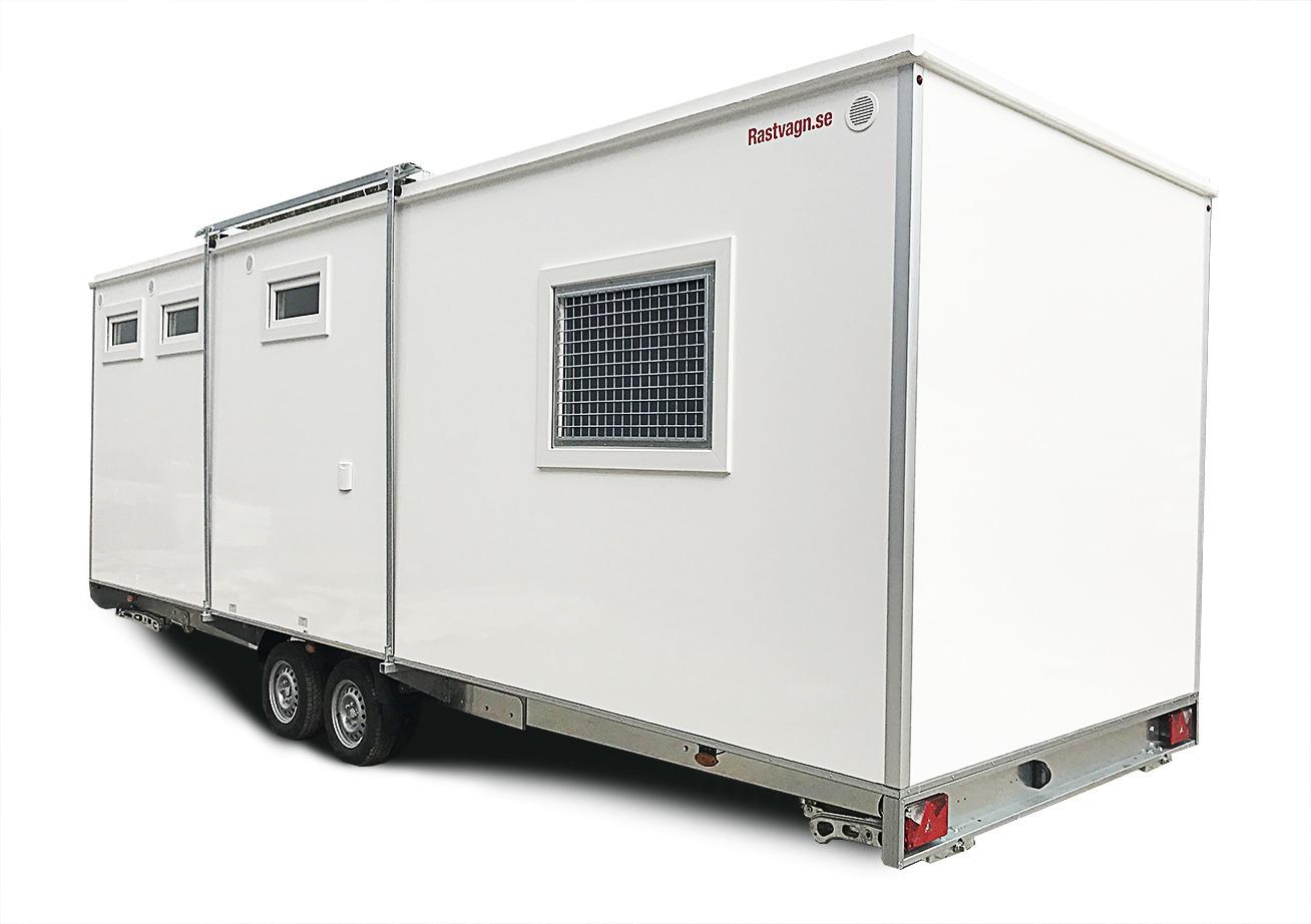 Домик-караван 7M6P GAS