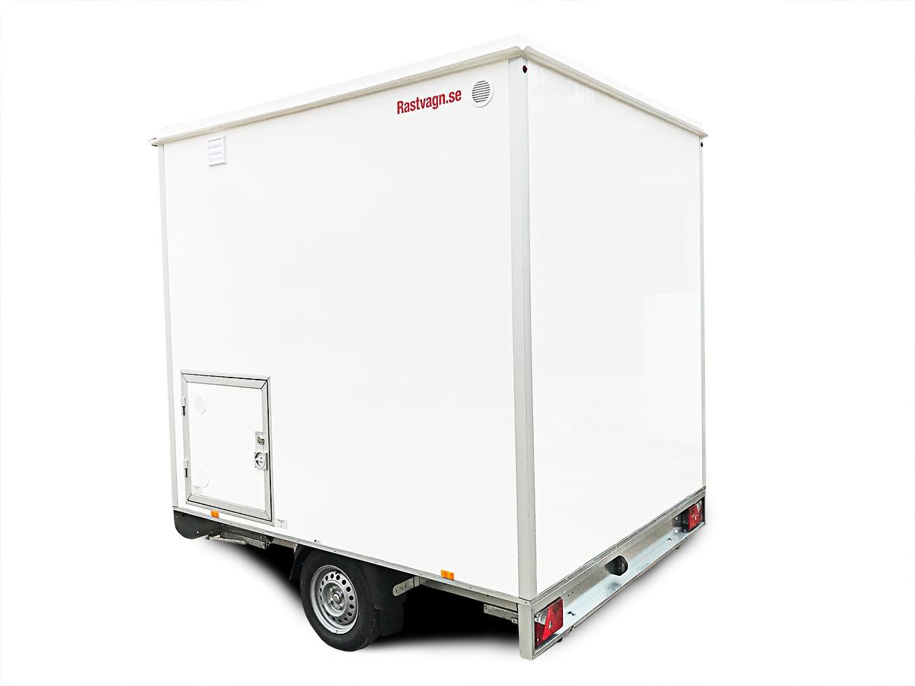Туалет и душевая на колесах 1P2.5MSHW-1