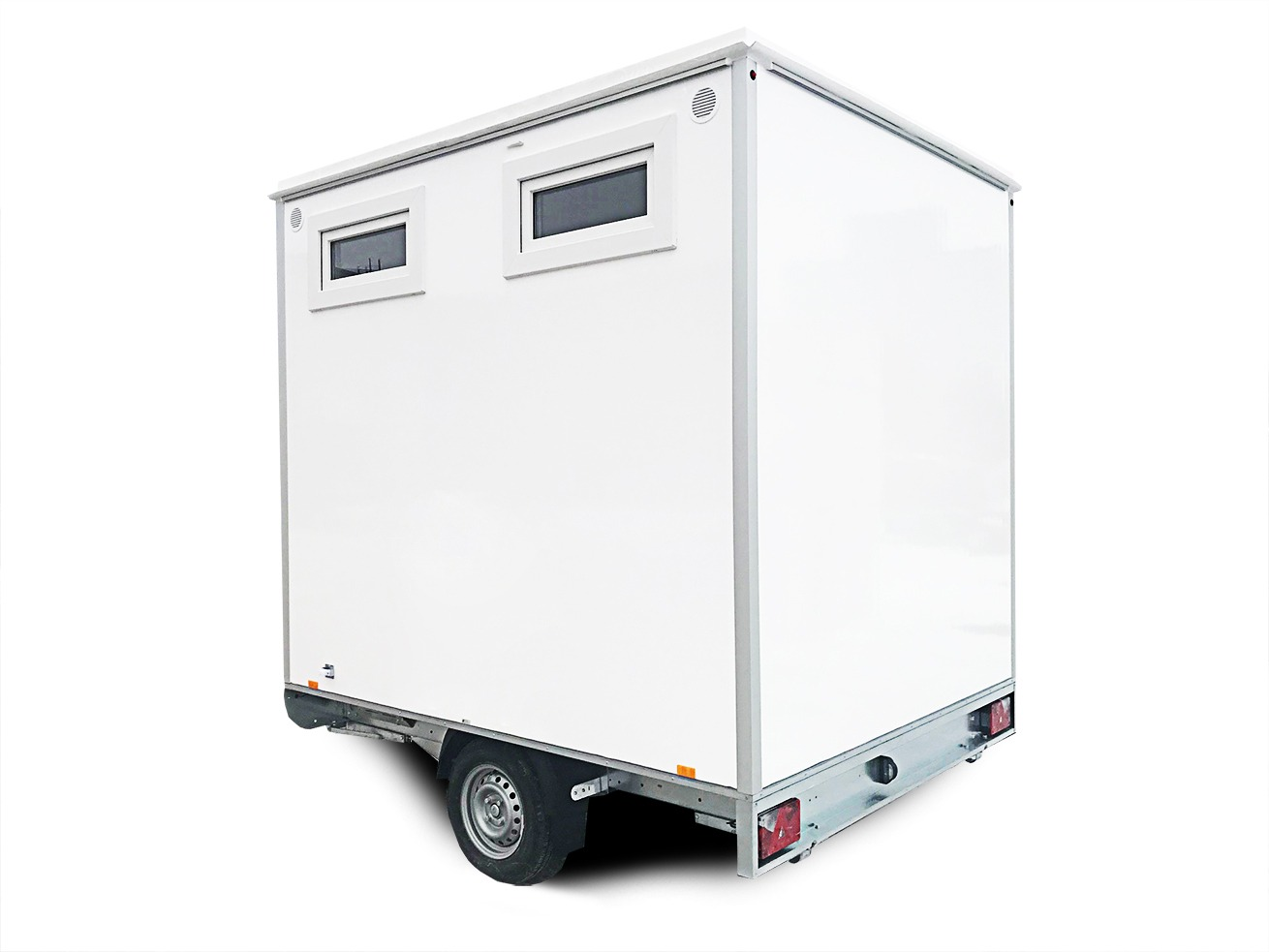 Toilet trailer 2PWCSS