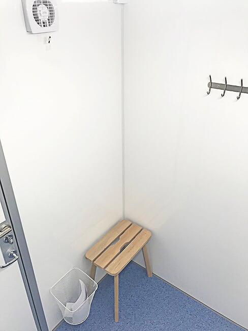 WC- ja dušihaagis 2PSHW
